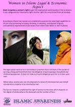 women in islam legal economic aspect