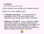 la biblia el libro m s famoso pero desconocido