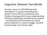 augustine between two worlds