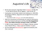 augustine s life