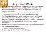augustine s works
