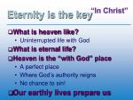 eternity is the key2