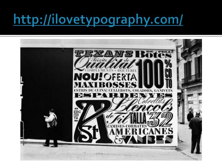 http://ilovetypography.com/