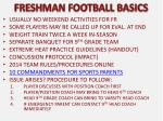 freshman football basics1