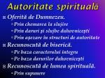 autoritate spiritual