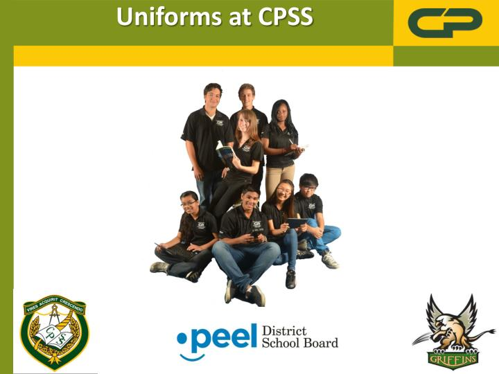 uniforms at cpss n.