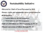 sustainability initiative