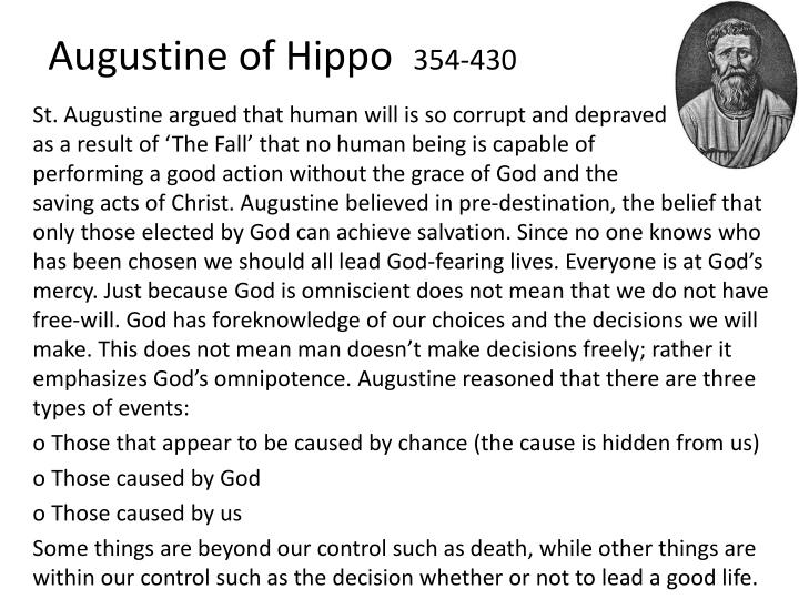 augustine of hippo 354 430 n.