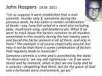 john hospers 1918 2011