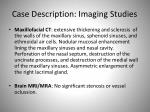 case description imaging studies