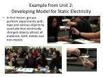 example from unit 2 developing model for static electricity