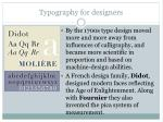 typography for designers18