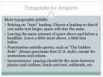 typography for designers57