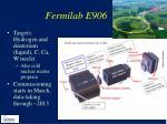 fermilab e906