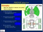 phenix detector