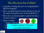 the electron ion collider