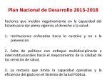 plan nacional de desarrollo 2013 20181