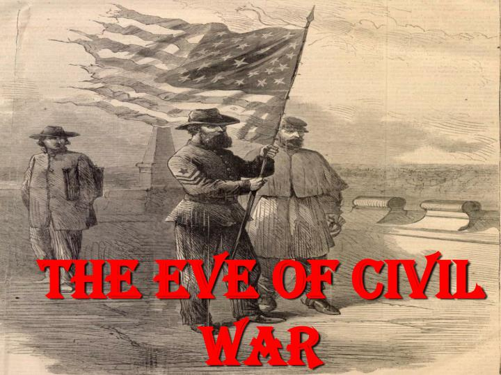 the eve of civil war n.