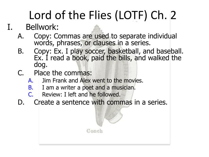 lord of the flies lotf ch 2 n.