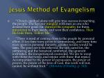 jesus method of evangelism1