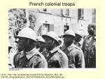 french colonial troops