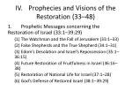 iv prophecies and visions of the restoration 33 48