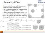 boundary effect