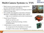multi camera systems vs vsn