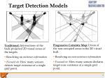 target detection models
