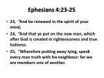 ephesians 4 23 25
