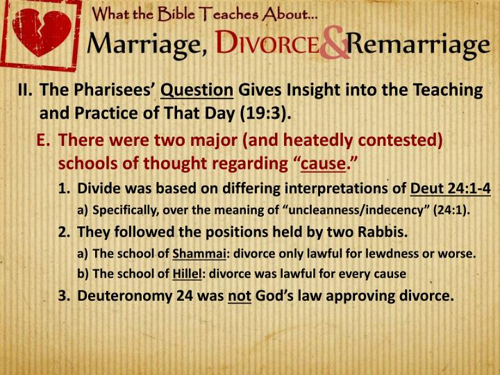 The Pharisees'
