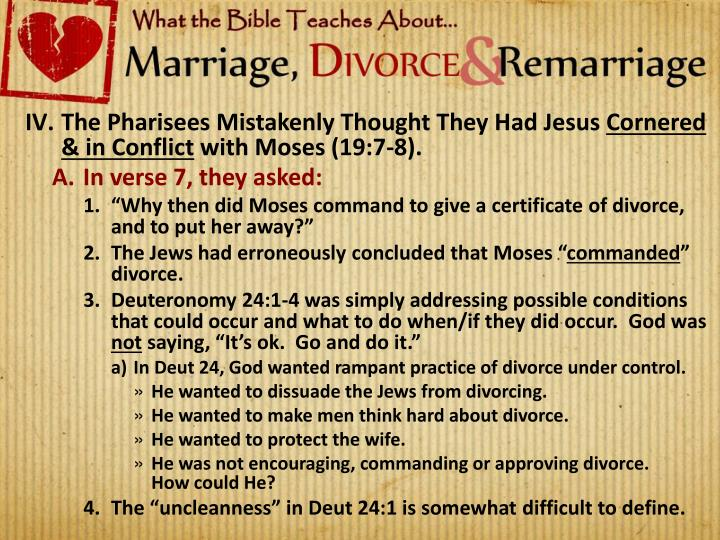 The Pharisees Mistakenly Thought They Had Jesus