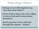 what about others