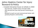 johns hopkins center for injury research policy
