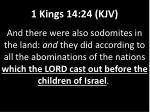 1 kings 14 24 kjv