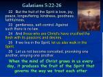 galatians 5 22 26