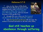 hebrews 5 7 9