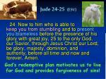 jude 24 25 esv