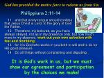 philippians 2 11 14