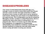 diseases problems