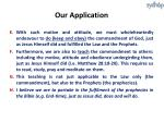 our application1