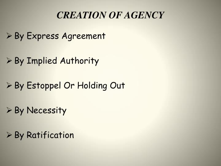 Ppt Contracts Of Agency Powerpoint Presentation Id2193002