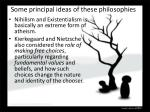 some principal ideas of these philosophies1