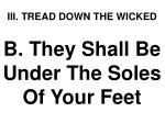 iii tread down the wicked1