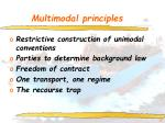 multimodal principles