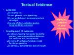 textual evidence3