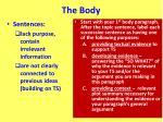 the body5