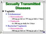 sexually transmitted diseases5