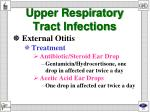 upper respiratory tract infections1