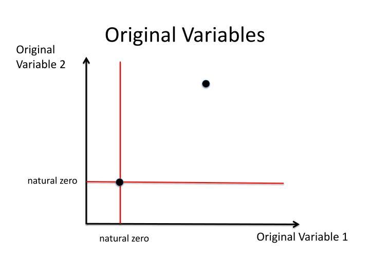 Original Variables